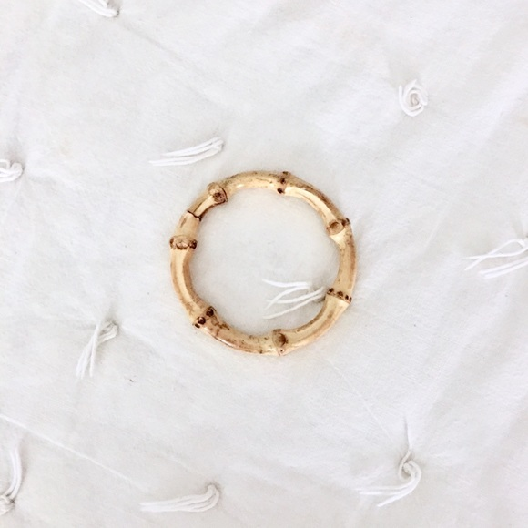Vintage Rattan Bamboo Bracelet